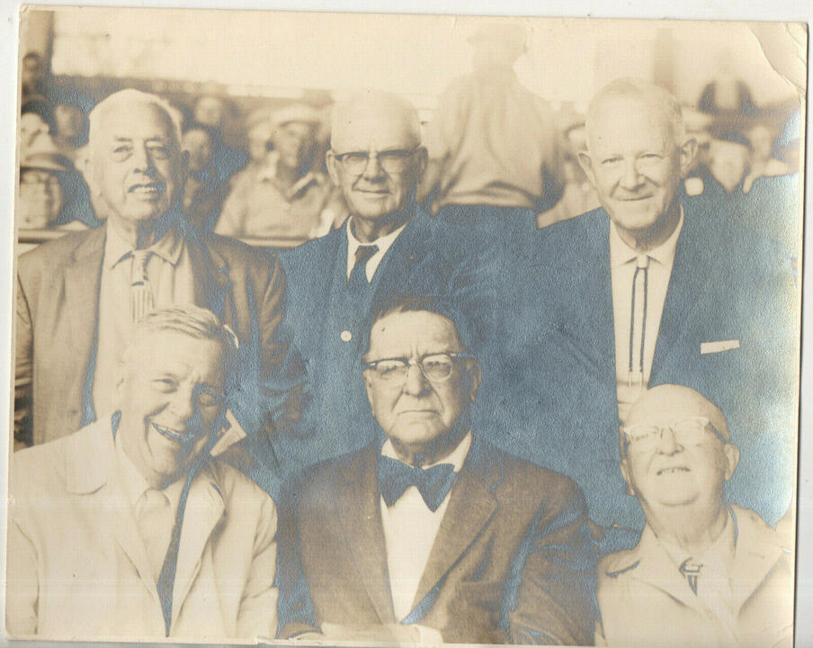 Name:  Branch Rickey and group vtg original Paulson photo of Dodgers Cardinals Pirates.jpg Views: 105 Size:  97.6 KB
