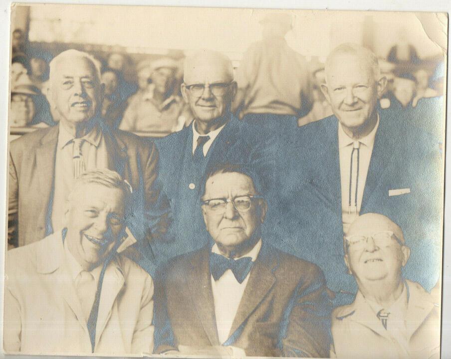 Name:  Branch Rickey and group vtg original Paulson photo of Dodgers Cardinals Pirates.jpg Views: 103 Size:  97.6 KB