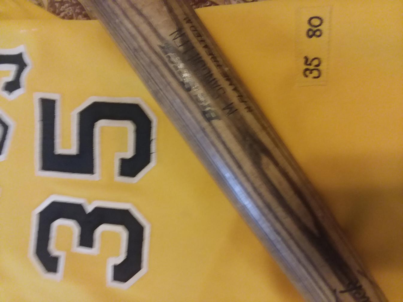Name:  Manny Sanguillen Pirates 1980 Gold front closer Tags ADIRONDACK bat.jpg Views: 166 Size:  80.8 KB